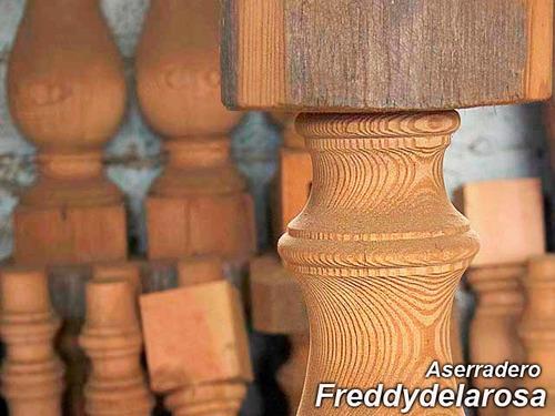 trabajos en madera a medida pino tea antigua