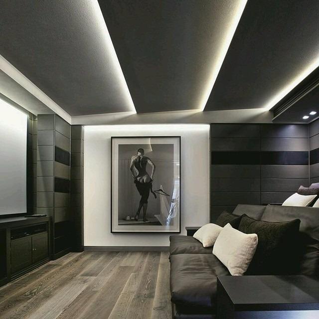 Interior Design Ideas For Home Theater: Trabajos En Tablaroca Y Durock Scl