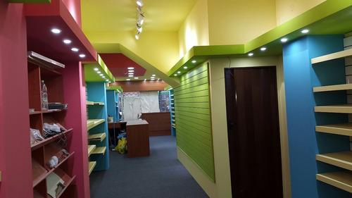 trabajos en yeso, placares, muebles, pintura y iluminación