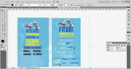trabajos profesionales en diseño gráfico