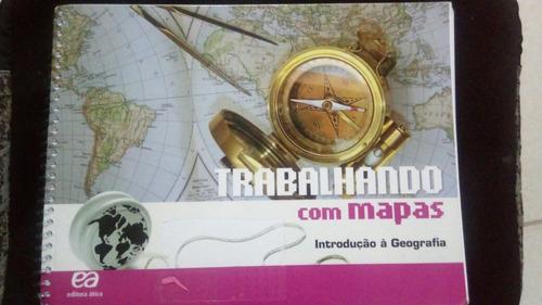 trabalhando com mapas - introdução a geografia.