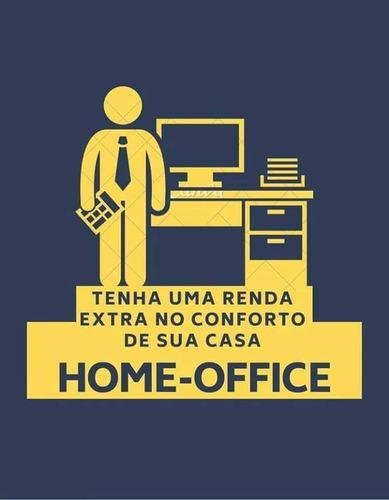trabalhe com home office