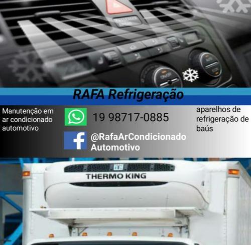 trabalho com ar condicionado automotivo e refrigeração