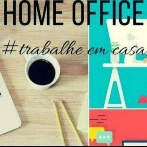 trabalho em casa!