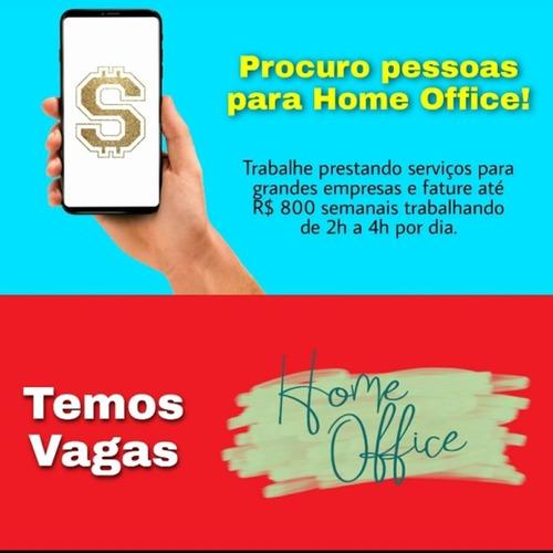 trabalho home office/ renda extra