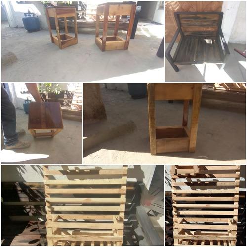 trabalhos é fazemos mesas; bancos e etc . de pinos japonês