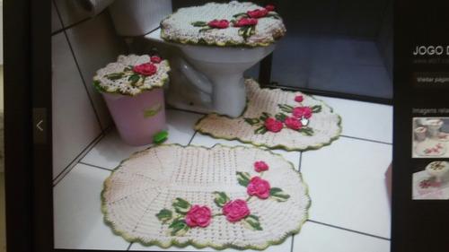 trabalhos em croché