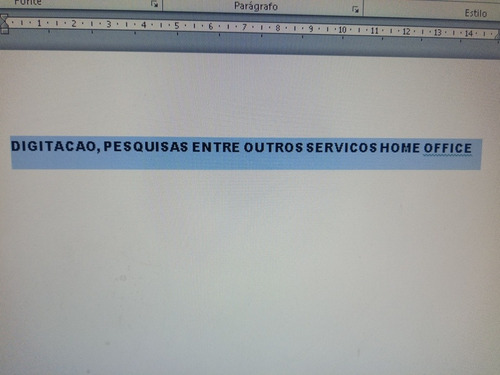 trabalhos home office