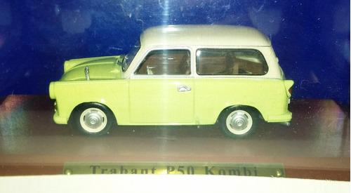 trabant p50 kombi - 1/43  ddr collection de agostini