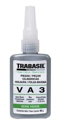 trabasil va3 50g adhesivo anaerobico piezas cilindricas verd