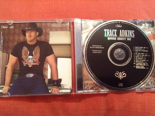 trace adkins songs about me cd album