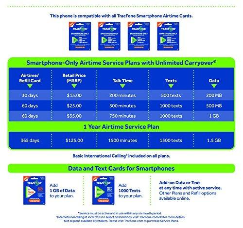 tracfone lg premier android cdma 4g lte smartphone - certifi
