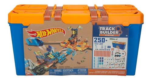 track builder system hot wheels 250 piezas extremo