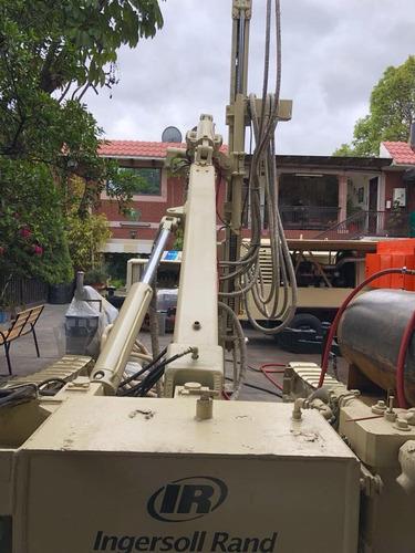 track drill ingersoll rand ecm350 con perforadora vl140