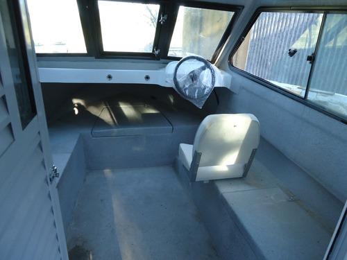 tracker 0km 7mt yamaha 150 hp 4t gran parana cabinado financ