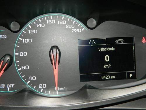 tracker 1.4 turbo flex 2018, único dono, km baixo