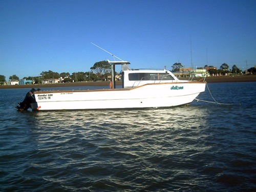 tracker 9.80m baader track pesca artesanal,trabajos especial