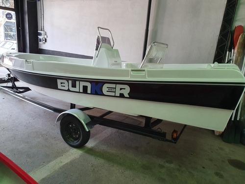 tracker bunker 550 fishing