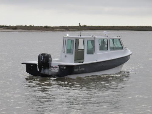 tracker cabinado 7.80 baader track,reforzado, pesca,trabajo