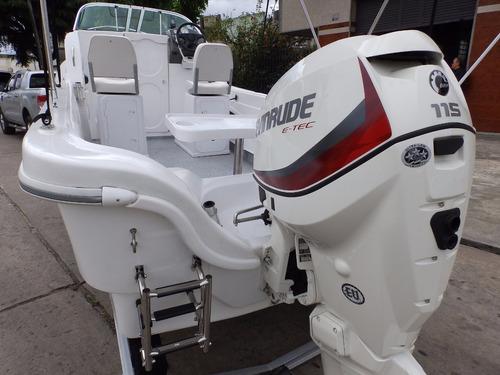 tracker cuddy tiburon 21 2018 115 hp ecol nautica milione