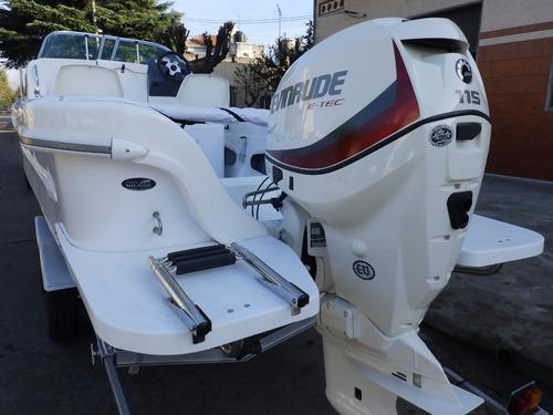 tracker cuddy tiburon 21 2020 motores nautica milione