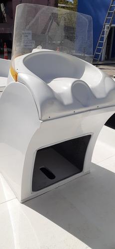 tracker lancha 600 litoral con consola y butaca casco 2020