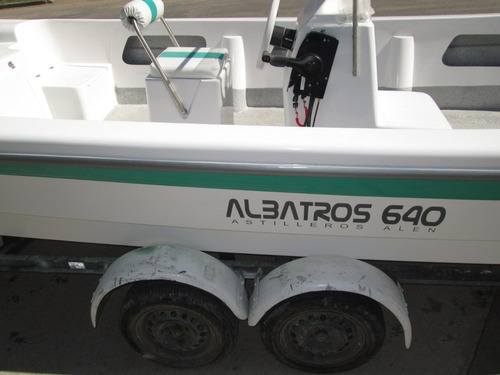 tracker lancha albatros 640 standart c/mercury 60 4t  2018
