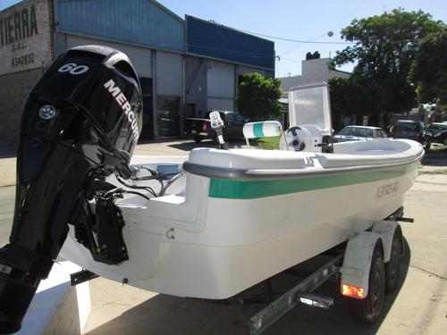 tracker lancha albatros 640 standart c/mercury 60 4t