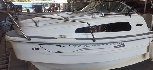 tracker lancha tiburón xxi 640 mercury 90 hp 2t prinz cabina