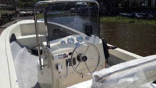 tracker lancha trakker 625 pescador + mercury 40 hp 2t 3cil