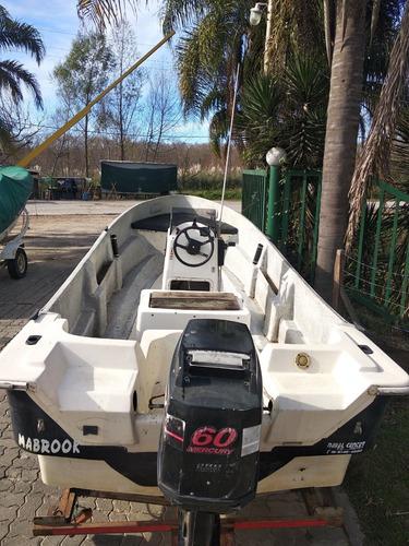 tracker naval center 520 con mercury 60 hp
