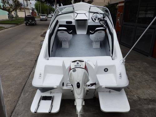 tracker open 3v bianca 510 stockpermanente nautica milione 8