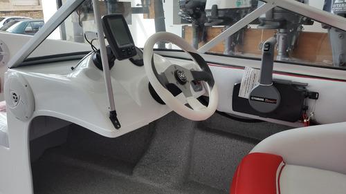 tracker open aguapey 520 con motor yamaha 40hp arranque elec