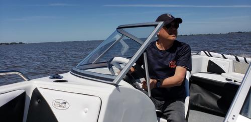 tracker open  evinrude 90 precio increible nautica milione 2