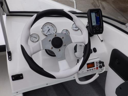 tracker open  evinrude 90 precio increible nautica milione