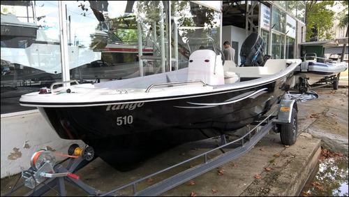tracker pescador 510 abierto ideal carga pesca caza traslado