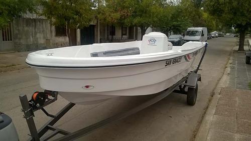 tracker tempestad 550 cubierta matrizada sin trailer $190000
