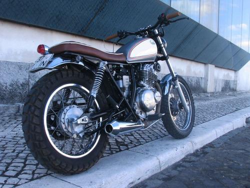 tracker/scrambler/cafe  & vintage racer- mdj- suzuki/honda/k