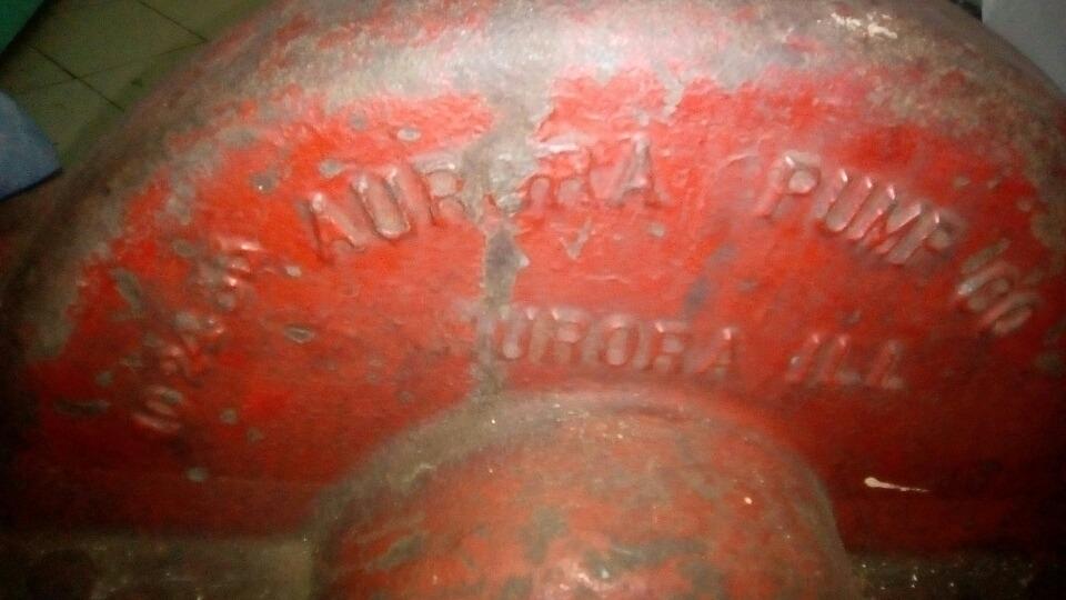 Tracto Bomba Marca Aurora Pump Co Tipo Caracol - $ 650 000