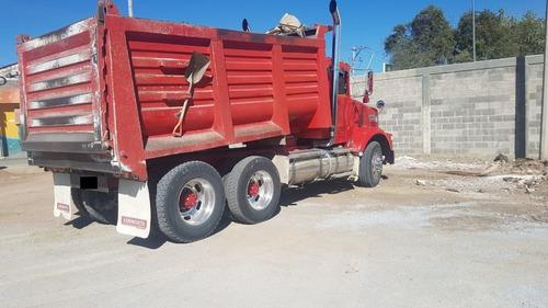 tracto camion kenworth año 1993 volteo 14metros