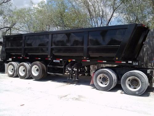tracto camion kenworth con gondola de lucio 30 m3
