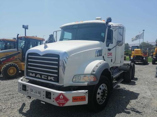 tracto camión mack gu 813, año 2012, oportunidad