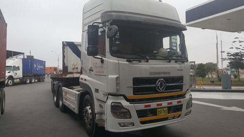 tracto remolcador dongfeng doble eje