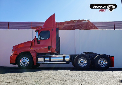 tractocamion cascadia daycab tm eaton fuller 10 vel, rojo,