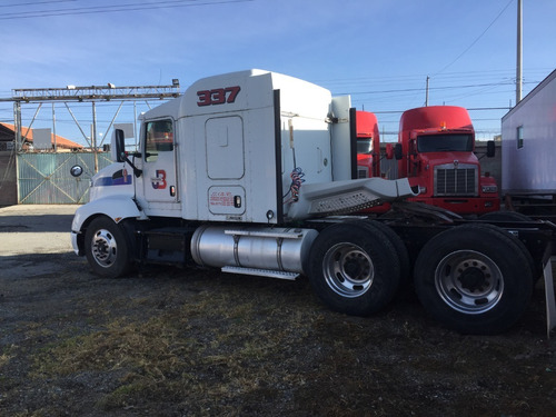 tractocamion kenworth t 660, año 2012, areocab flattop 62´´