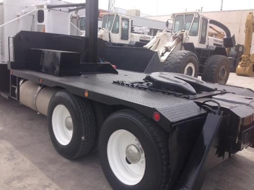tractocamion kenworth t600 mod 1992 con grua titan de 11 ton