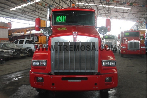 tractocamion kenworth  t800 2011  100% mex.  #3156