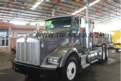 tractocamion kenworth  t800 2011 day cab  100% mex.  #3148