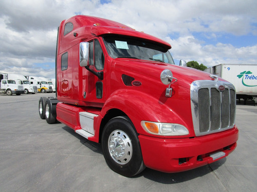 tractocamion peterbilt 387 modelo 2009 importado motor isx