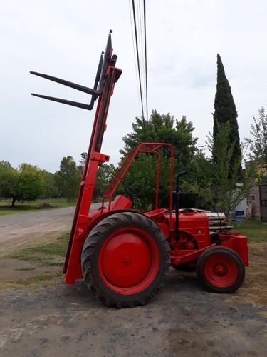 tractoelevador hanomag motor toyota 1500kg usado